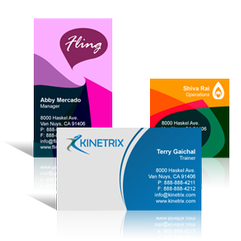 Business cards best d signs custom signage in the greater houston area if youre looking for a professional business card style that can greatly impact your business image look no further our business cards are printed in reheart